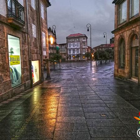 Entrando na Ferraría de Pontevedra
