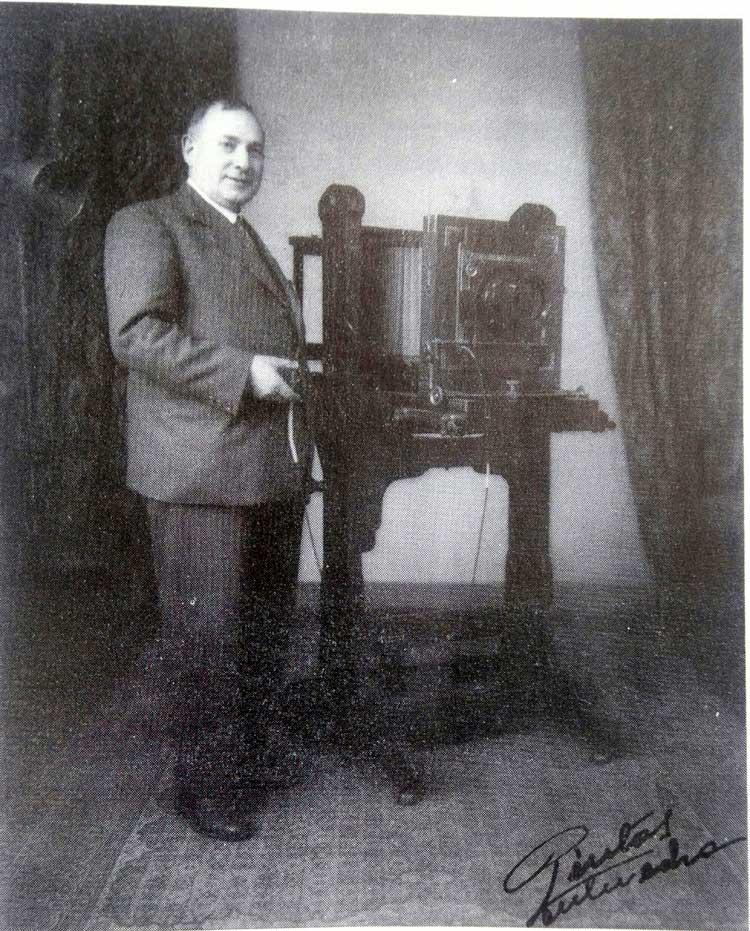 Joaquín Pintos, el 'Notario Gráfico' de Pontevedra