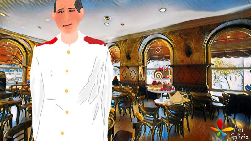 En memoria do noso querido Elías do Café Carabela (Pontevedra)