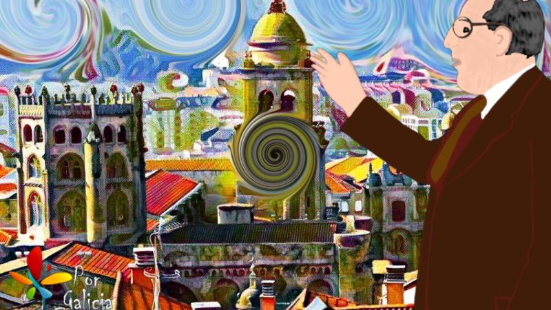 🥰 A Ourense e Don Ramón Otero Pedrayo