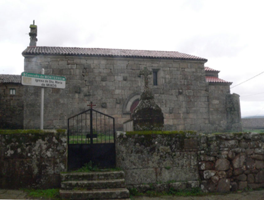 Un encontro coa igrexa de Santa María de Mixós