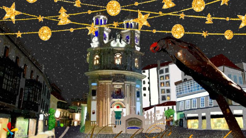Tempo de Nadal. Pontevedra