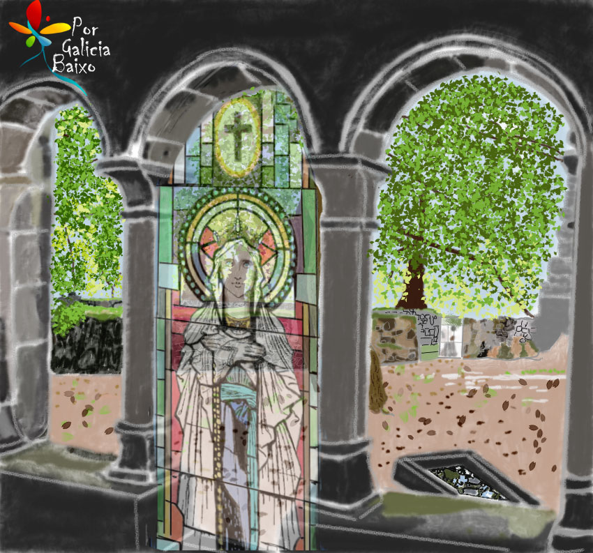 Desde o Mosteiro de Santa Cristina de Ribas do Sil. Ribeira Sacra