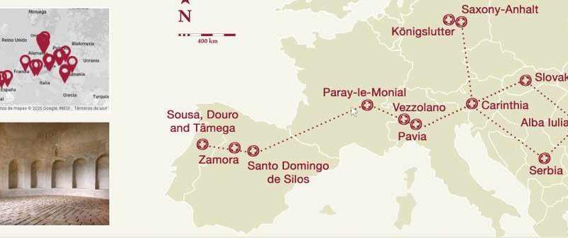 Lugo entra na Ruta Transrománica europea