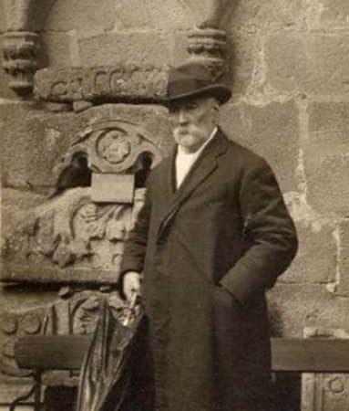 Casto Sampedro, retratado