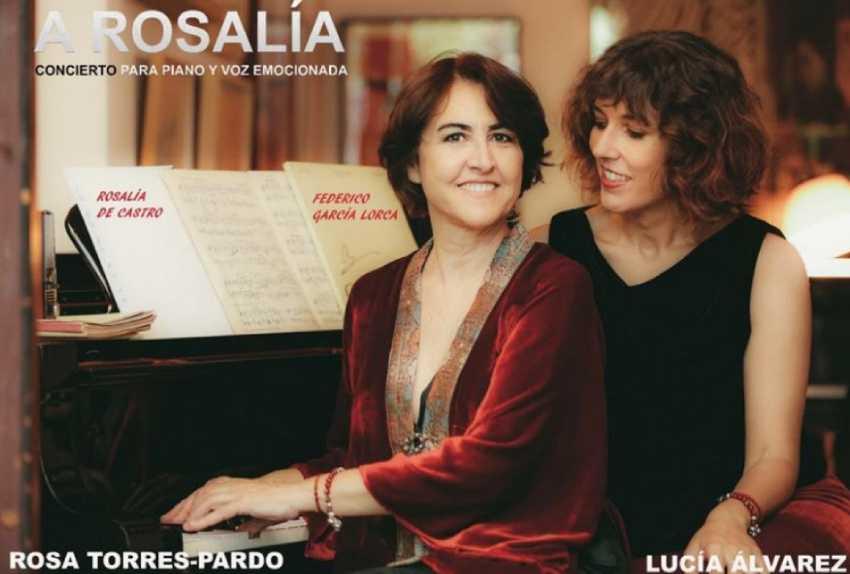 'A Rosalía. Concerto para piano e voz emocionada'. Liceo de Ourense