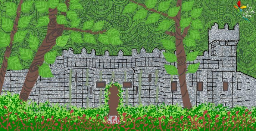 """Érase una vez en Aldán, un bosque encantado con Castillo """"de juguete"""""""