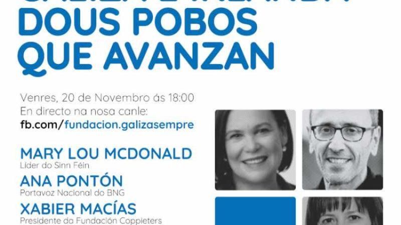 Conferencia 'Galiza e Irlanda: Dous Pobos que Avanzan'