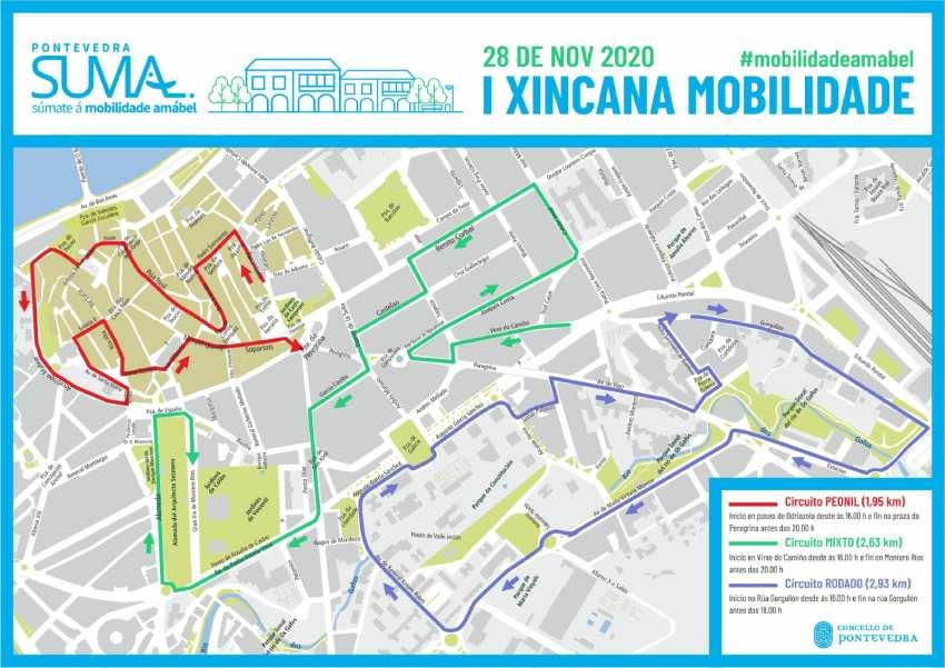 Xincana de Mobilidade. Pontevedra
