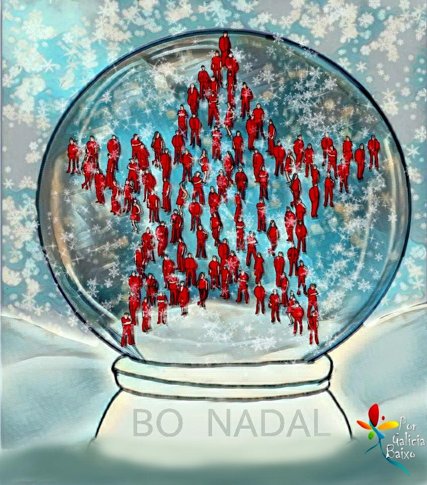 Desde Galiza para o mundo… Bo Nadal!