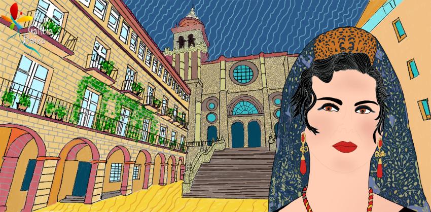 """A Praza de San Martiño de Ourense, unha praza """"de cine"""""""