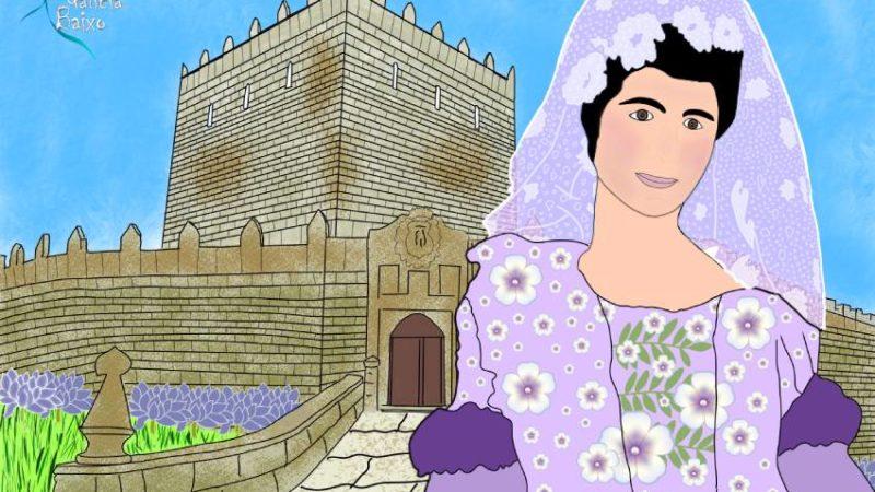 """A """"Marquesa Vermella"""" Maria  Vinyals; o Castelo de Soutomaior e a súa pantasma"""