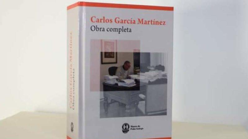 Un libro para Carlos García Martinez