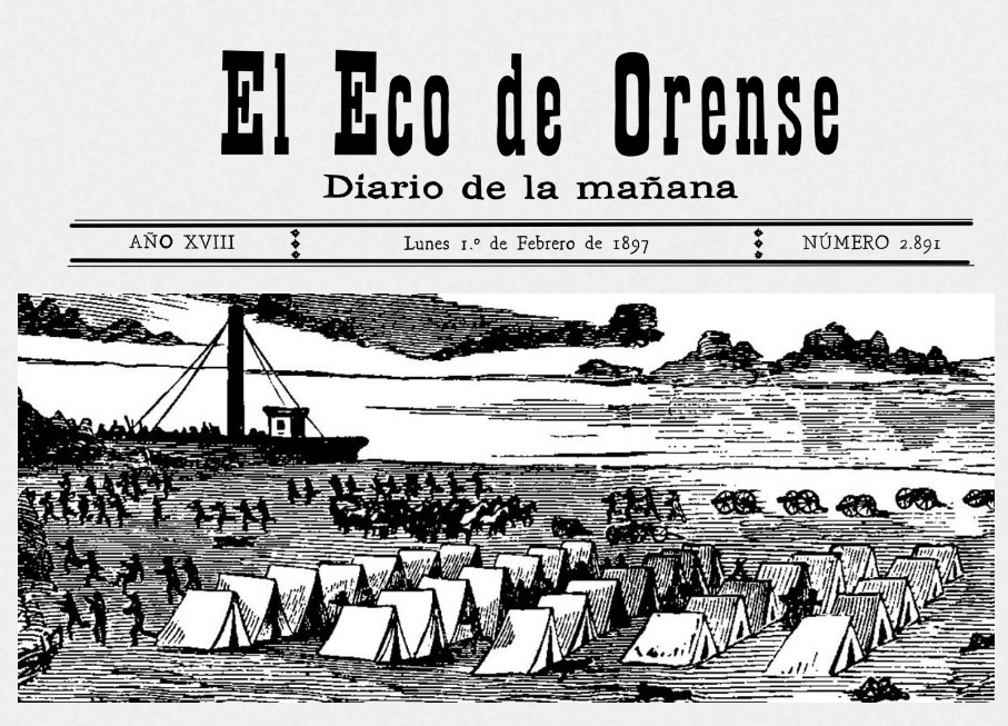 Lunes 1º de Febrero de 1897. El Eco de Orense