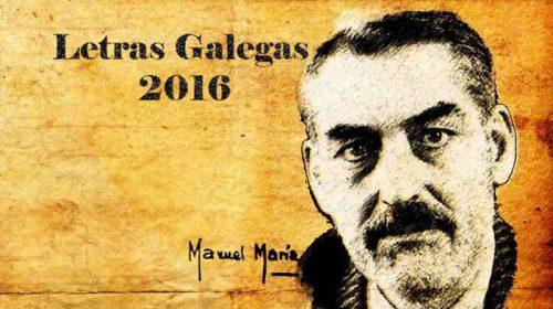 No Día das Letras Galegas 2016: Manuel María