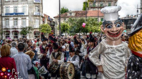 Empiezan las Fiestas de la Peregrina; Pontevedra
