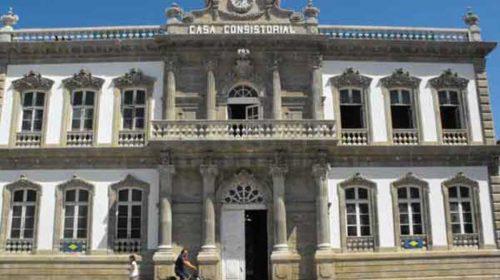 Discursos del alcalde y de los premiados en el Cidade de Pontevedra