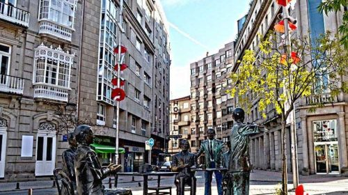 En la Plaza de San José; Pontevedra