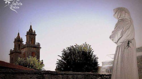 En el Monasterio de Oseira