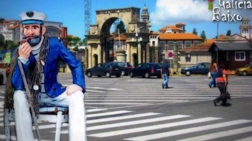 Sentado en Marín