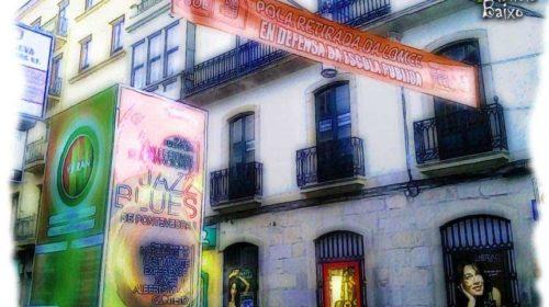 Por la Calle Michelena, Pontevedra