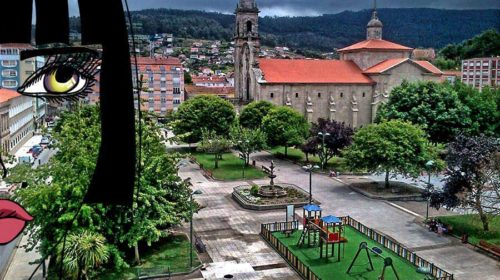 Plaza de la Iglesia Santa María del Puerto – Marín