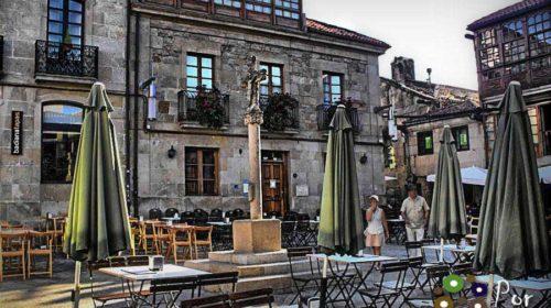 En La Plaza de la Leña: Pontevedra