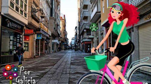 En bici polo Carballiño