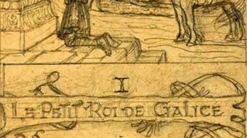 Victor Hugo escribindo sobre Galicia