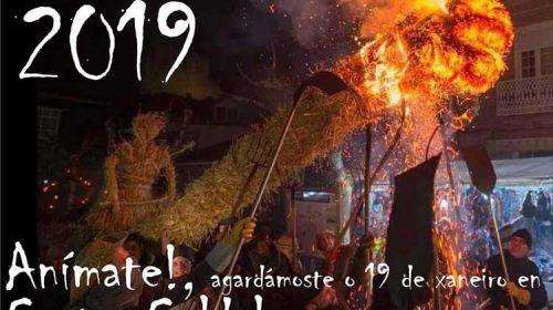 Fiesta de los Fachós 2019. Castro Caldelas