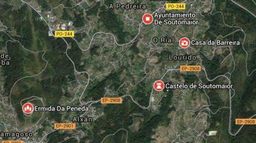 """Ruta Castillo de Soutomaior y El Castillo de Castrizan (""""A Peneda"""")"""