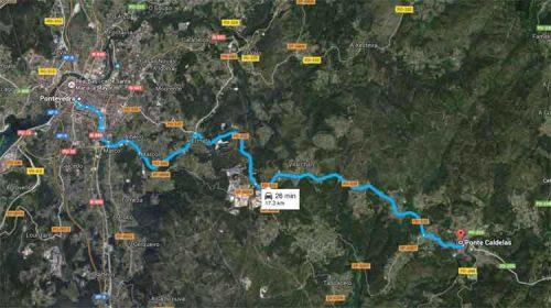 Ruta e visita a Ponte Caldelas (Pontevedra)