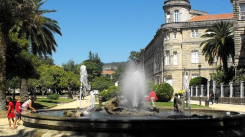 Paseo por Pontevedra Ciudad