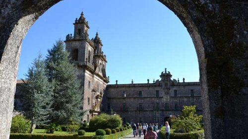 O Mosteiro cun xardín de palmeiras de pedra: Oseira