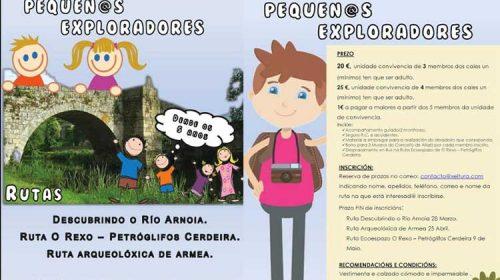Ciclo de Andainas Familiares da man de Xeitura e o Concello de Allariz