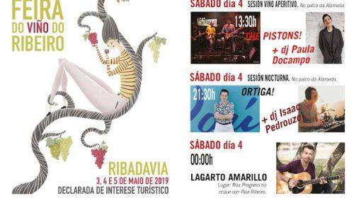 Música para a 56ª Feira do Viño do Ribeiro