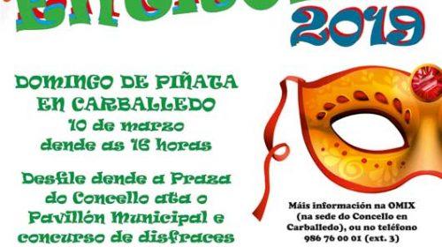 Entroido, Domingo de Piñata en Carballedo. Concello de Cerdedo – Cotobade