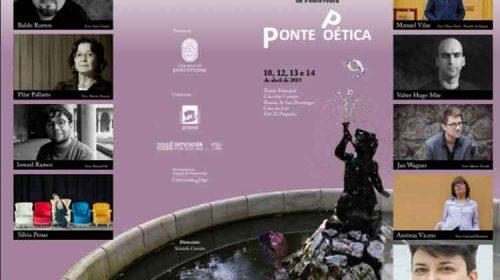 Festival Internacional de Poesía de Pontevedra. Chega PontePoética'9