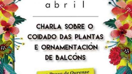 Novo obradoiro sobre o coidado das plantas. Ponteguapa. Pontevedra