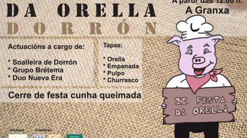 Fiesta Gastronómica da Orella de Dorrón. Sanxenxo