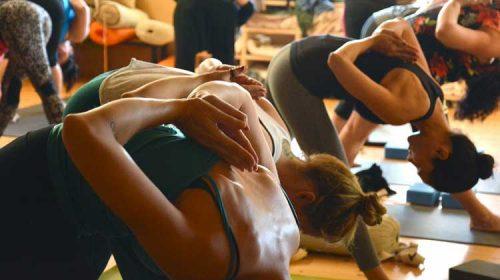 En marcha cursos de  pilates para familias en Sanxenxo