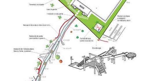 Mejora de los accesos al Centro de Interpretación del Agua. Pontevedra