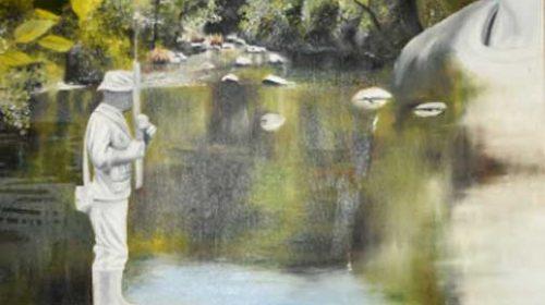 Obras seleccionadas dos concursos de carteis e fotografía da Festa da Troita. Ponte Caldelas