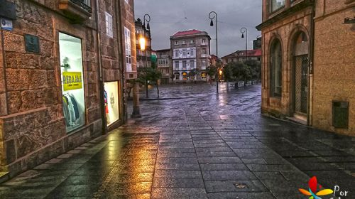 De camiño á Ferraría en Pontevedra