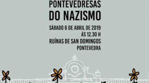 Homenaje a las víctimas pontevedresas del nazismo