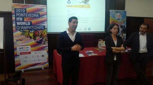 Los mundiales de triatlón contarán con la presencia de 50 voluntarios portugueses . Pontevedra