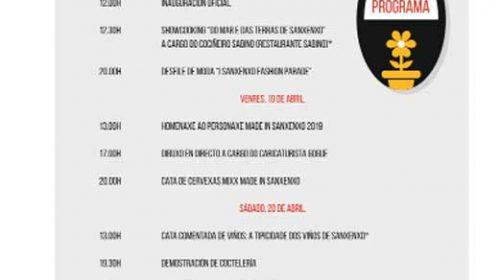 Programación Feria de Oportunidades de Entretendas e Mixx Sanxenxo