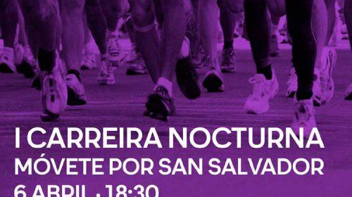 """I Carreira Nocturna """"Movete por San Salvador"""". Poio"""