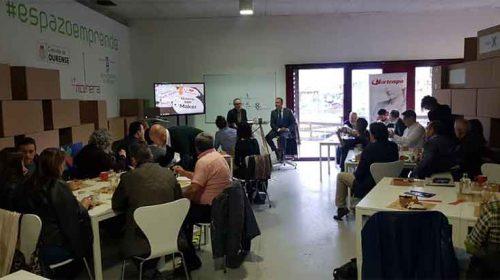 Clausura da segunda edición do curso Big Data. Ourense