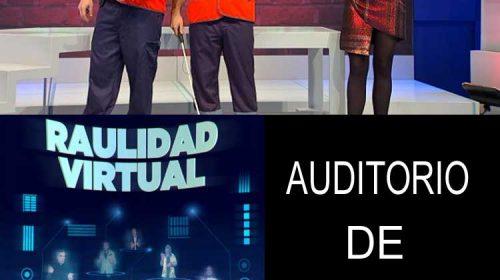 Espectáculo 'Raulidad virtual', e gravación de 'Malo será', nesta semana no Auditorio de Ourense